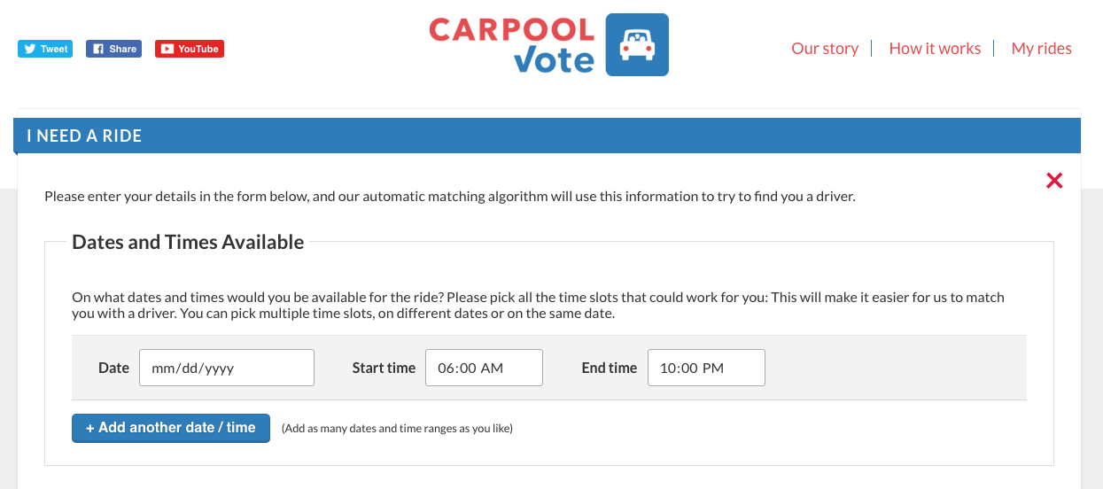 carpool vote